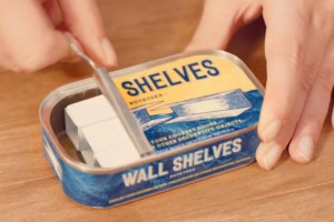 宜家+4HUMANS类似食品包装的迷你家具包装