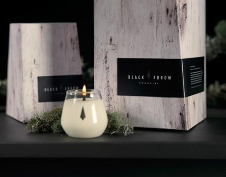 黑箭蜡烛包装设计
