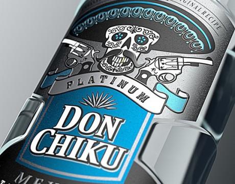 Don Chiku龙舌兰酒包装设计
