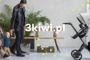 波兰婴幼儿用品商店3kiwi更换新LOGO