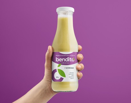 Bendito果汁包装设计