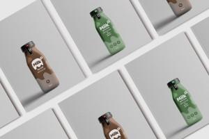 milkup牛奶包装设计