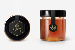 Puro Mel蜂蜜品牌包装设计