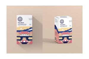 Tra Dinh茶包装设计