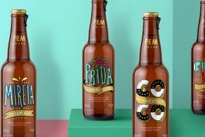 Fem啤酒包装设计