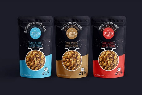 The Popcorn Company爆米花包装设计