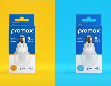 Promax灯泡包装设计