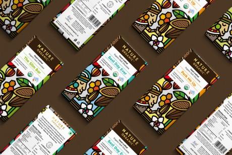 Nature Organic手工巧克力包装设计