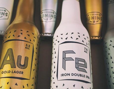 5 Nines啤酒包装设计