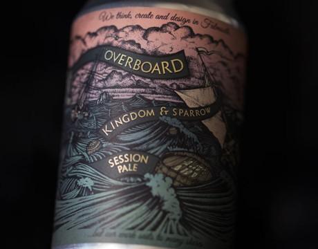 overboard啤酒概念包装设计欣赏