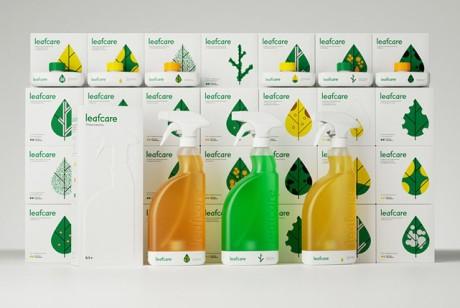 Leafcare植物护理产品系列包装设计欣赏