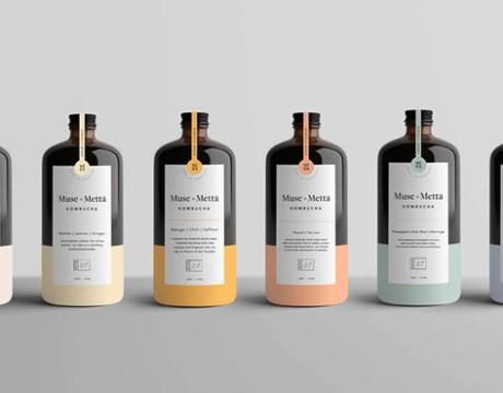 文化气息浓厚的Muse Metta养生饮料包装设计