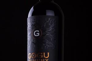 精致的Gogu Winery葡萄酒限量版标签设计