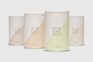 精美的C2蛋白粉极简包装设计