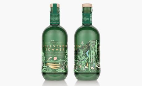 挪威Hellstrøm Sommer品牌酒包装设计
