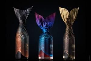 亚美尼亚鱼俱乐部专用酒包装设计