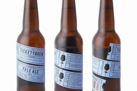 Ticketybrew啤酒包装设计欣赏