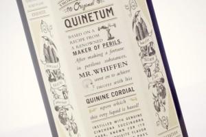 Hendrick's Quinetum杜松子酒包装设计