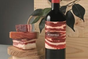 两款Vi Novell葡萄酒包装设计