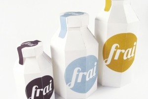 Student Work – Cassandra Cappello牛奶果汁纸盒包装设计