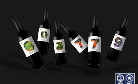 威龙—数字葡萄酒包装设计