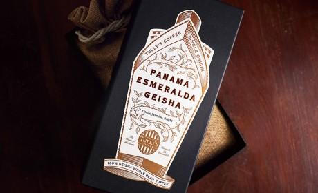 巴拿马咖啡豆包装设计