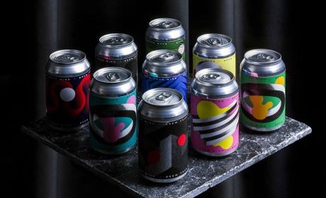 啤酒易拉罐包装设计