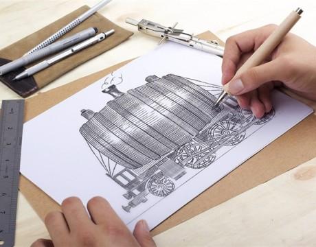 THE SILK ROAD红酒包装设计