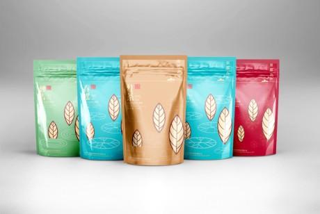 康露春系列绿茶包装设计