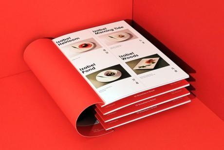 精约化的广告宣传册设计更受用户重视