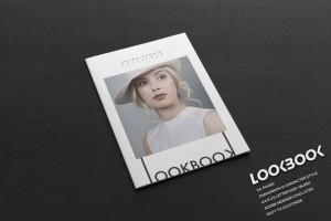 一款适合时尚品牌的画册模版设计分享