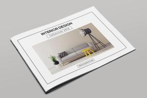 一本适合室内设计公司的画册模版