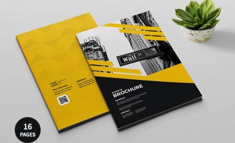 巴勒斯坦AbdElrahman商务画册模版设计