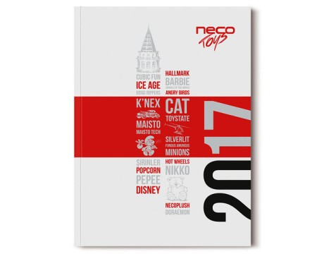 NECO玩具品牌目录画册设计欣赏