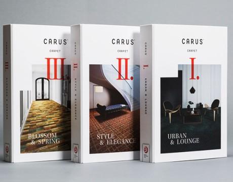 Carus地毯品牌目录画册设计欣赏
