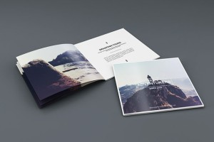 希腊makistse精美的摄影画册模版设计