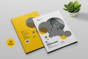 一本简约大方的企业画册设计案例