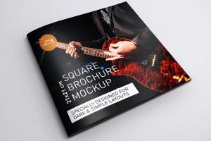 音乐主题的宣传画册模版设计案例