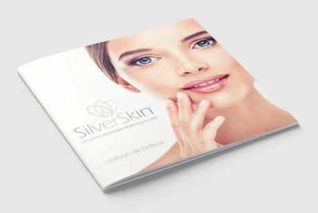 SilverSkin化妆品品牌画册设计