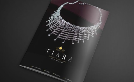 TIARA珠宝品牌目录画册设计