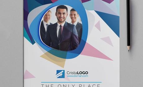 Mohammad企业画册模版设计作品