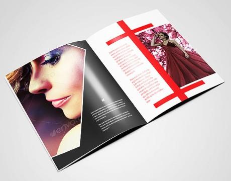 企业宣传册设计中的封面设计准则