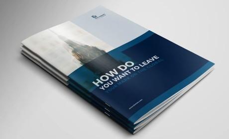 澳大利亚Shariful Islam企业画册模版设计分享
