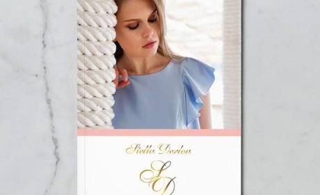 希腊PM Karathanasi时尚时装画册模版设计