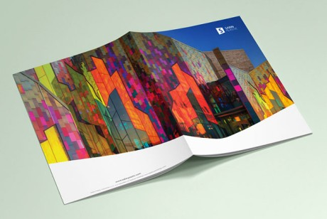简洁大方的SABIN PLASTIC企业画册设计欣赏