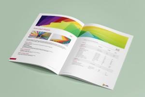 企业画册设计中关于色彩的使用