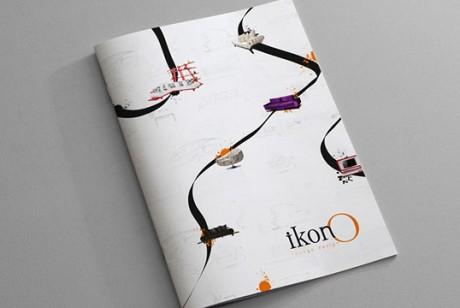 Ikono时尚家具品牌画册设计