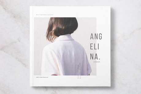Angelina画册时尚版式设计欣赏