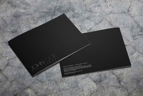 黑白色系摄影画册设计案例分享