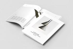 美国Graphic Assets灯具品牌画册模版设计